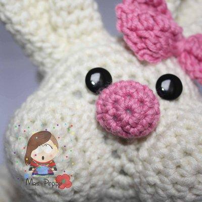 Coniglio Amigurumi Uncinetto : Borsa uncinetto amigurumi coniglio - Donna - Borse - di ...