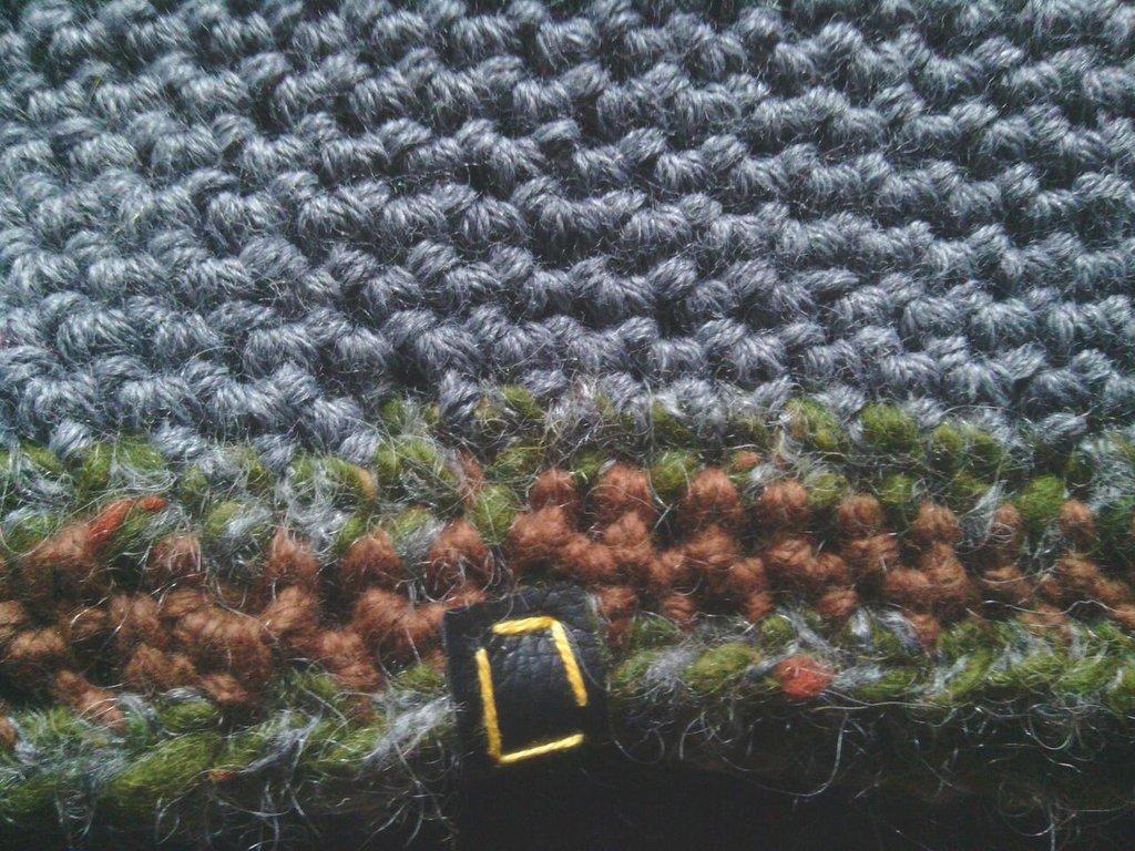 Fascia scaldacollo in lana, fatta a mano all'uncinetto per uomo, donna, ragazzo, S004