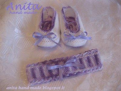 Completino neonata in cotone