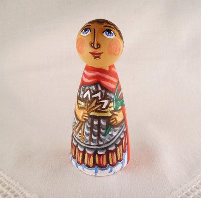 San Sebastiano Martire cristiano cattolico bambola