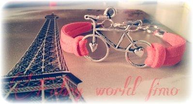 Bracciale con biciclette