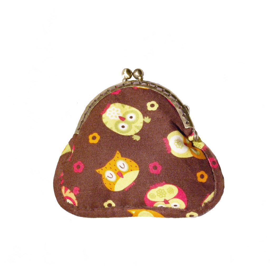 Portamonete handmade - Gufi