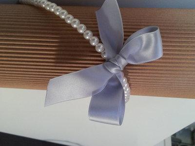 Cerchietto di perle