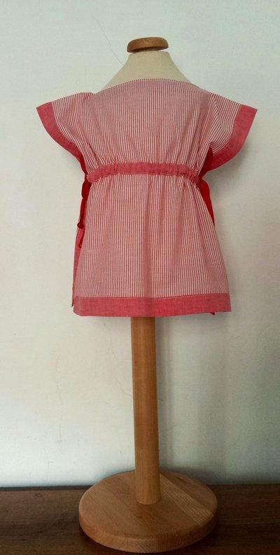 Copricostume / mini-abito pareo / blusa.