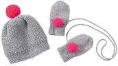 Cappellino e Muffole per neonati