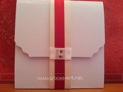 Partecipazione Matrimonio Pocket De Luxe