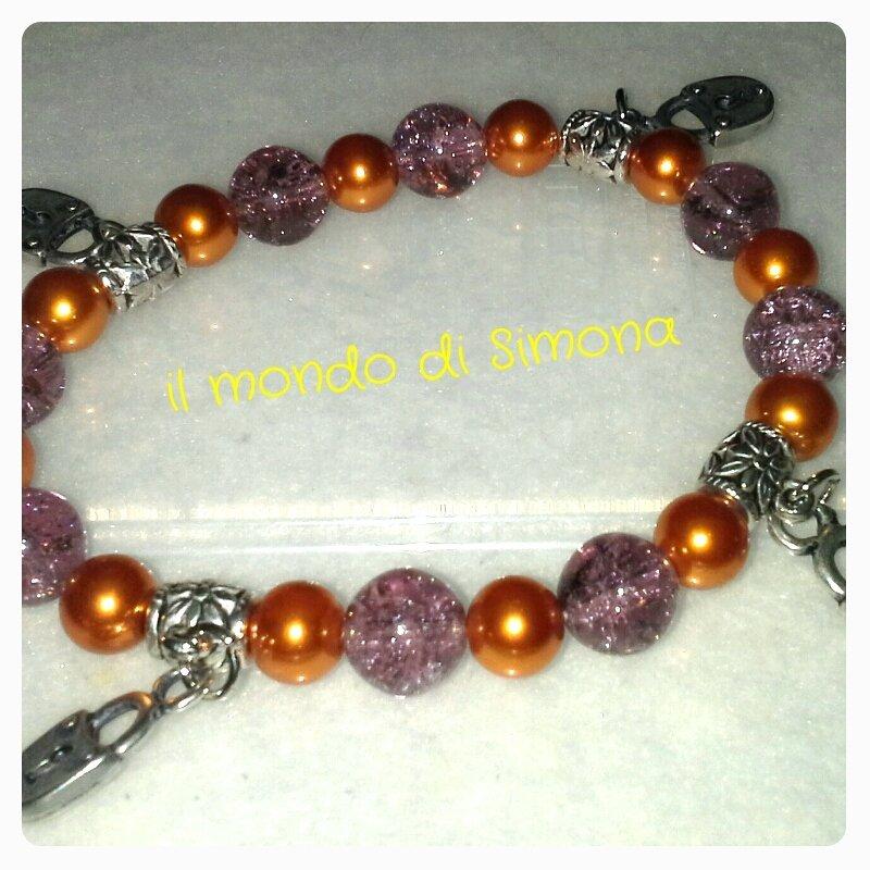 braccialetto charms lucchetto