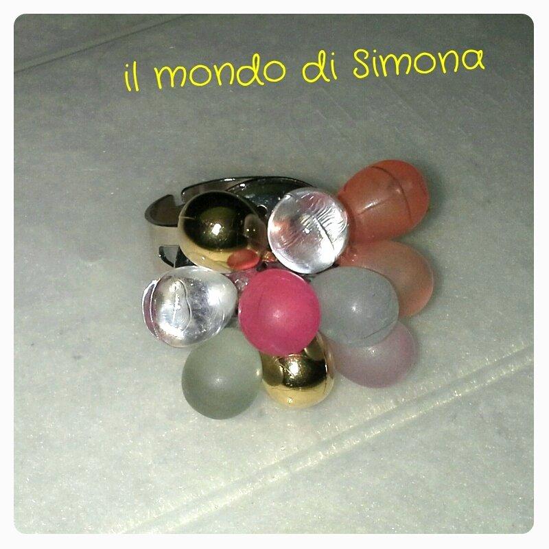 anello multicolore