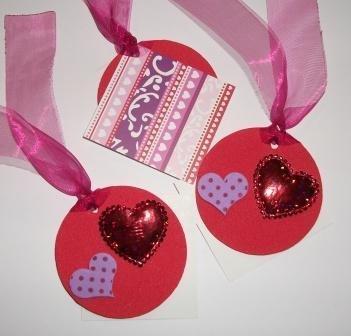 Bigliettini Chiudipacco San Valentino - Etichette Tags - Red version^^