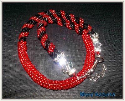 collana spirale crochet/spirale cellini