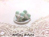 """orecchini a lobo Tiffany modello """"heart"""" impacchettati"""