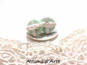 """orecchini a lobo Tiffany modello """"round pearl"""" impacchettati"""