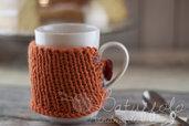 copri tazza - mug fatto a maglia doubleface-  BatuffoloHandmade