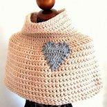 Pattern (bilingue Italiano + Inglese) per PRIMITIVE CAPE - Pattern per realizzare LA MANTELLA a crochet uncinetto di Tramontana Uniquely Couture