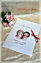 MENU LOVE IS.. su cartoncino pearlescente
