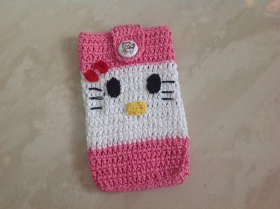 Porta cellulare Hello Kitty
