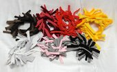 Elastici pazzi bicolore - Crazy chouchou bicolor