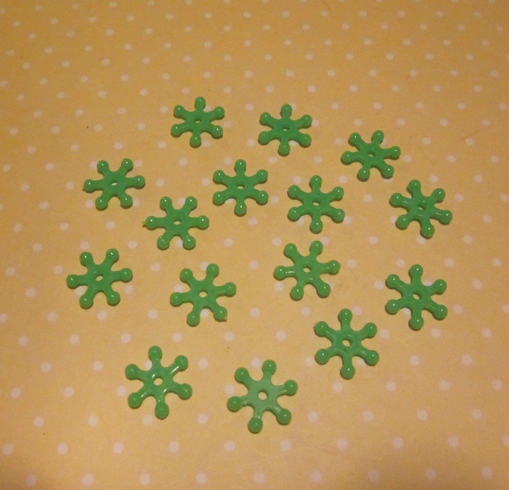 10 distanziatori verdi