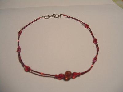 Collana Rosso San Valentino