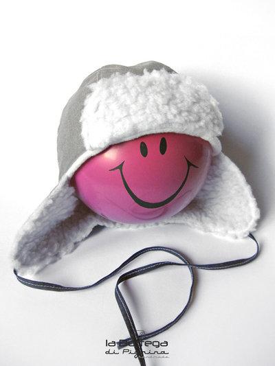 Cappello invernale per Neonato - Grigio