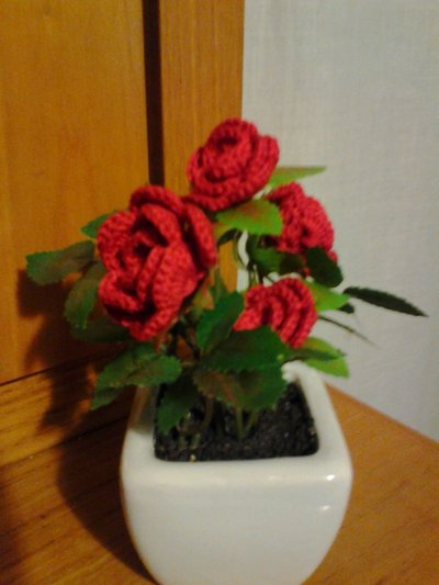 Vasetto con roselline