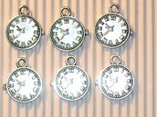 6 charms orologio 15mm vend.