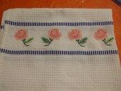 Asciughino/asciugamano rose