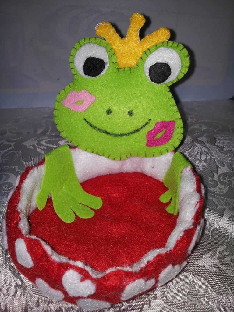 Principe ranocchio porta bonbon