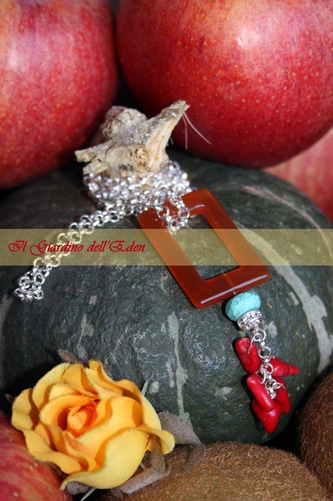 collezione fiori di zucca - collana