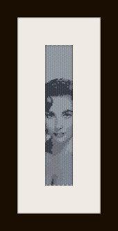 schema bracciale Liz Taylor in stitch peyote ( 2 drop ) pattern - solo per uso personale