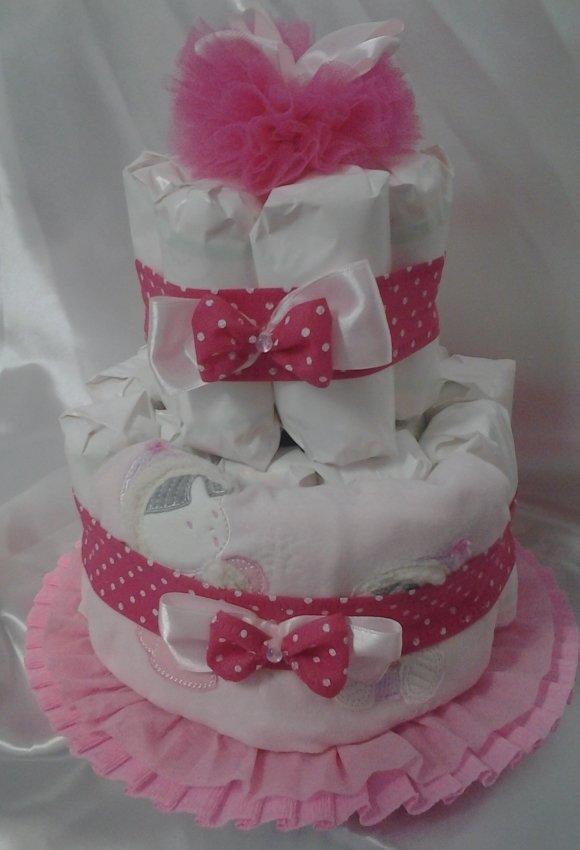 Ben noto Tag torte di pannolini | MissHobby SU33