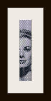 schema bracciale Grace Kelly in stitch peyote ( 2 drop ) pattern - solo per uso personale