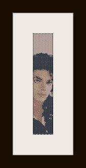 schema bracciale Michael Jackson in stitch peyote ( 2 drop ) pattern - solo per uso personale