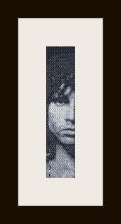 schema bracciale Jim Morrison in stitch peyote ( 2 drop ) pattern - solo per uso personale