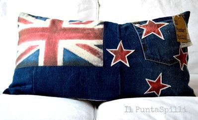 cuscino bandiera new zealand