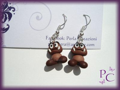 ✿ OFFERTA 5,00€!!! ✿ Orecchini pendenti - Goomba