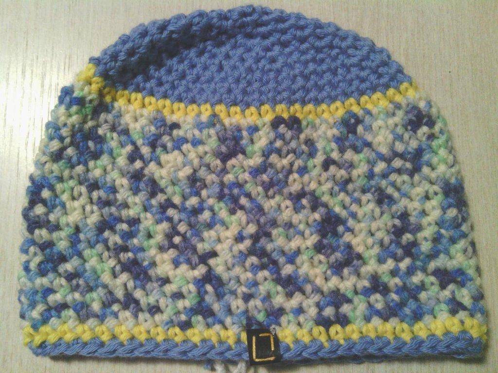 _cappello  uomo, donna  ragazza in lana, fatto a mano all'uncinetto C065_