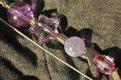 spillone allegro e colorato viola