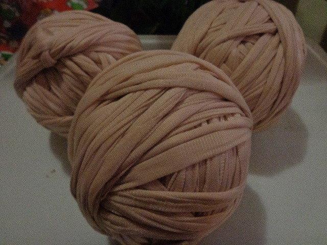 Fettuccia nylon rosa antico per borse
