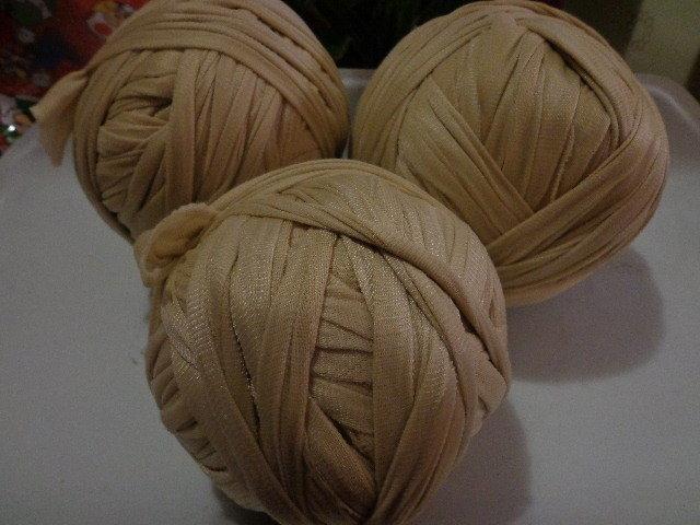 Fettuccia nylon beige per borse