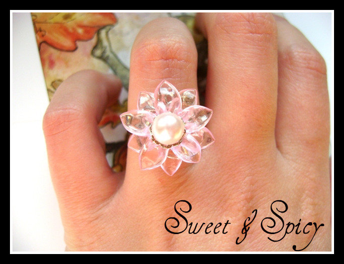 FLOWERS COLLECTION-LITTLE PINK RING