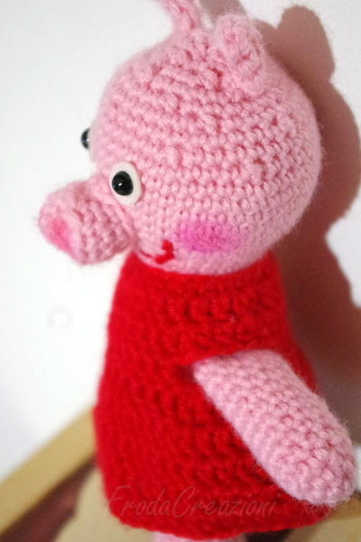 Peppa Pig - Amigurumi - Su ordinazione - Made to order