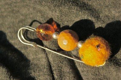 spilla allegra color ambra