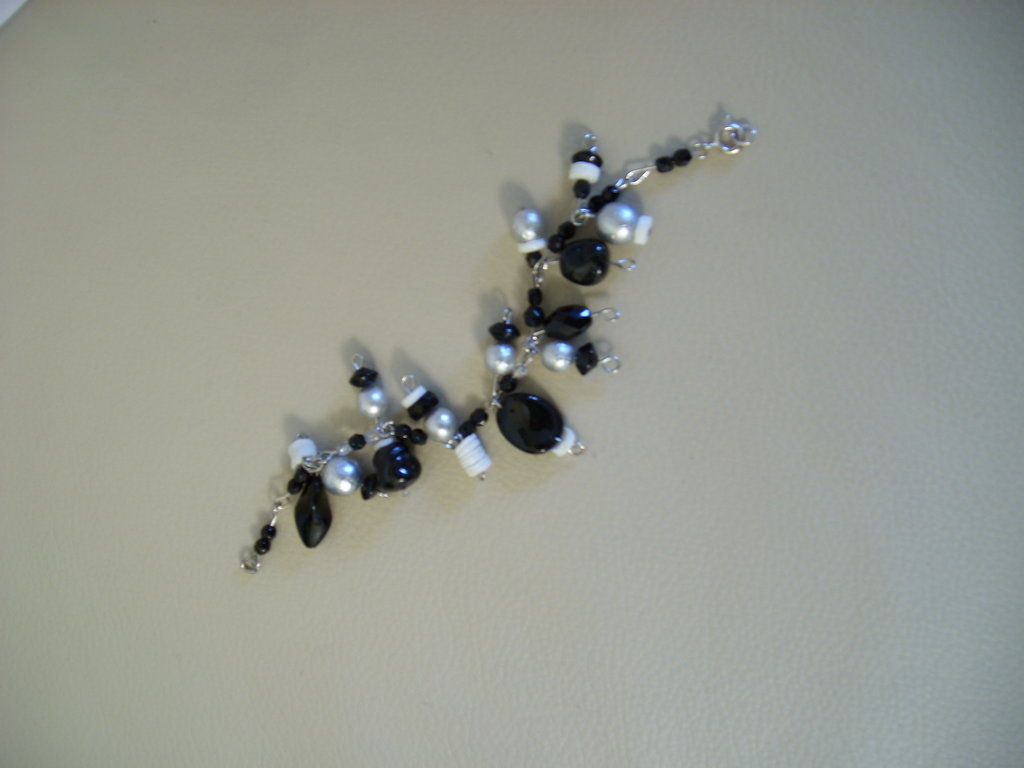 "BRACCIALE ""Black & White"""