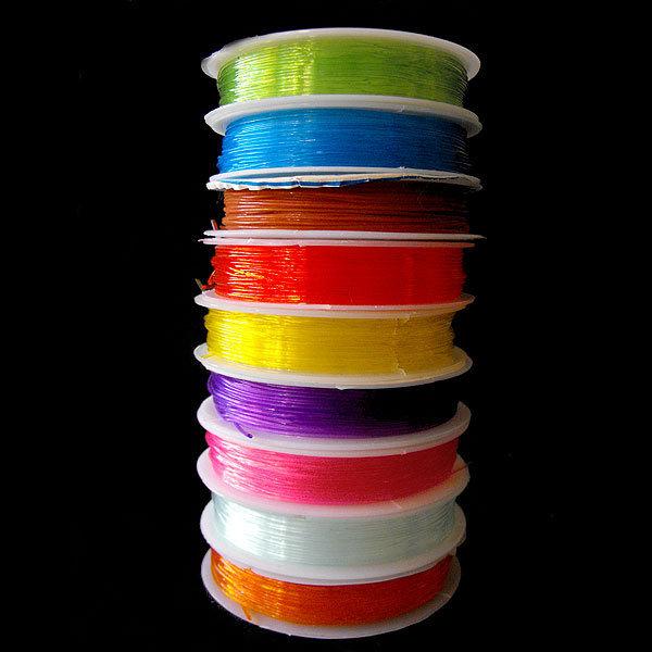FILO ELASTICO bobina rocchetto vari colori