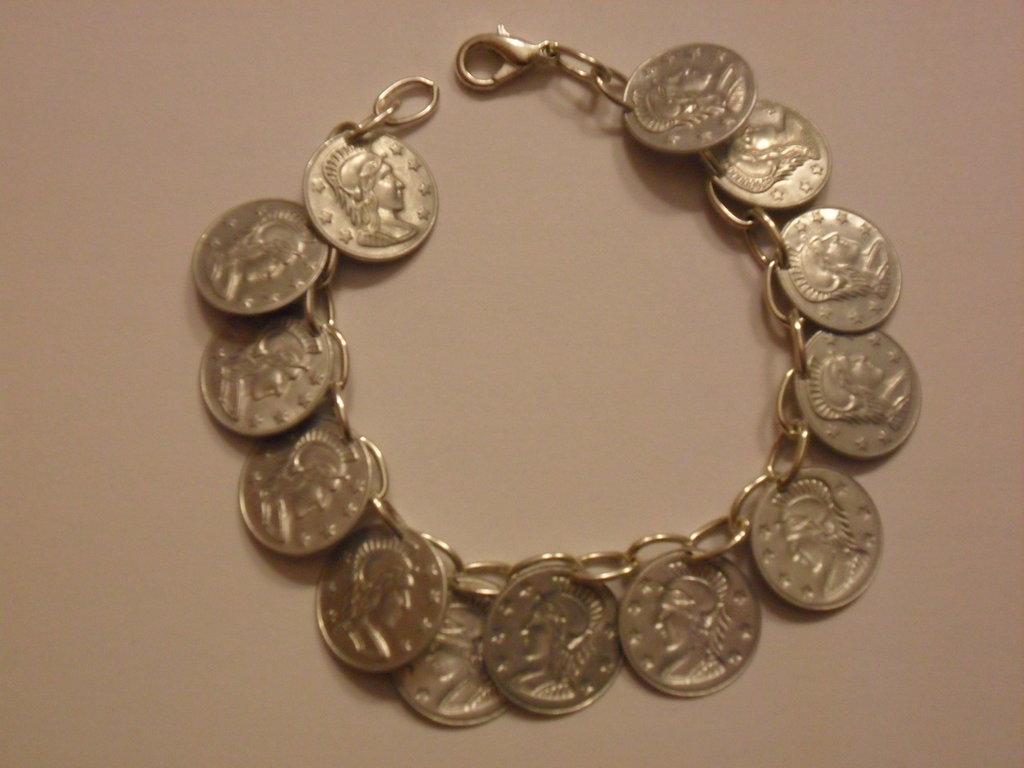 Bracciale monetine