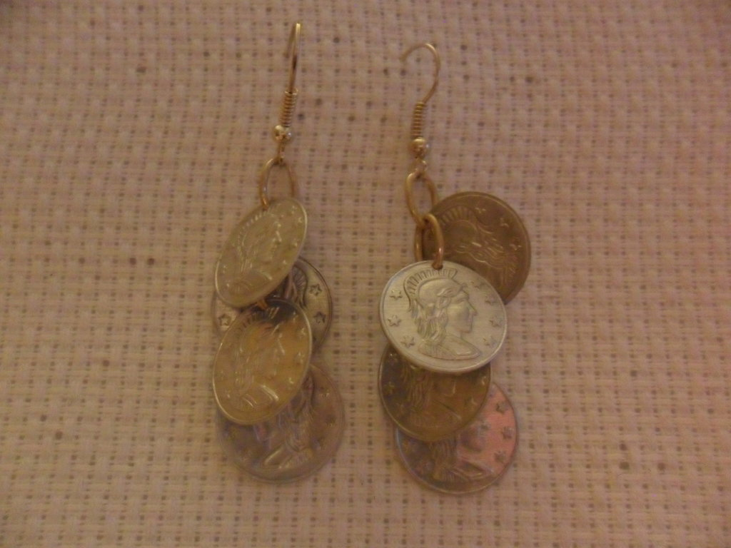 Orecchini monetine