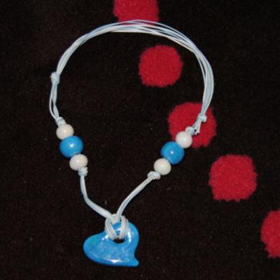 Collana Cuore Azzurro