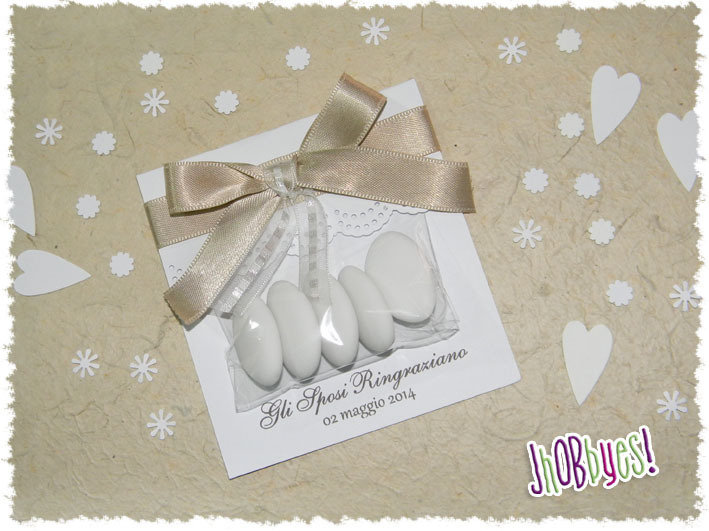 Amato Confettata Segnaposto Matrimonio - Feste - Matrimonio - di  NV72