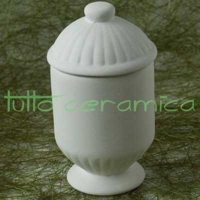 Vasetto costine piccolo con coperchio